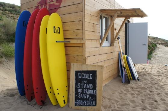 duke surf school,  palge de Grand Boisvinet